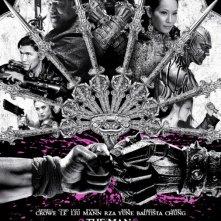 The Man with the Iron Fists: la locandina del film