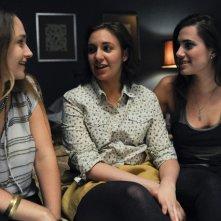 Girls: Jemima Kirke, Lena Dunham e Allison Williams nella serie HBO