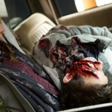 Grimm: Azura Skye ed Eric Riedmann nell'episodio The Thing with Feathers