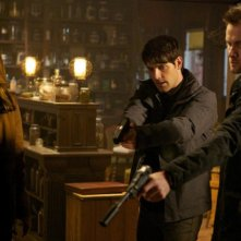 Grimm: Bree Turner, David Giuntoli e Neil Hopkins nell'episodio Cat and Mouse