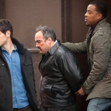 Grimm: David Giuntoli, David Zayas e Russell Hornsby nell'episodio Leave It to Beavers