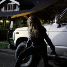 Grimm: Jaime Ray Newman in un momento dell'episodio The Three Bad Wolves