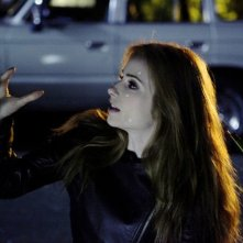 Grimm: Jaime Ray Newman in una scena dell'episodio The Three Bad Wolves