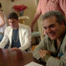 Salvatore Ruocco sul set de Il ragioniere della mafia
