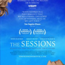The Sessions: la locandina del film