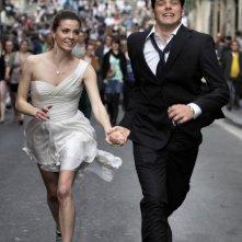 Un giorno speciale: Giulia Valentini e Filippo Scicchitano nella prima immagine del nuovo film di Francesca Comencini