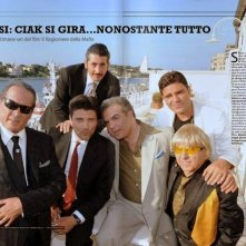 Il Cast del film del ragioniere della mafia: Lorenzo Flaherty, Tony Sperandeo, Salvatore Ruocco, Ernesto Mahieux, Nando Irene, Franco Neri.