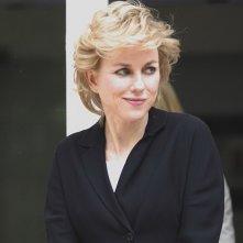 Naomi Watts trasformata nella Principessa Diana sul set di Diana
