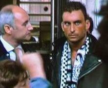 Claudio Del Falco nel film Ultrà