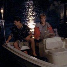 Joshua Jackson e James van Der Beek nell'episodio Incroci della serie Dawson's Creek