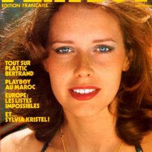 Sylvia Kristel sulla cover di Playboy, 1979