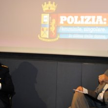 Polizia: femminile, singolare. In difesa delle donne: Luca Cadura e Francesca Monaldi alla presentazione del programma di Diva Universal