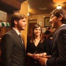 Daniel Brühl, Marta Etura e Alberto Ammann in una scena del film Eva