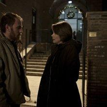 Gli equilibristi: i protagonisti Valerio Mastandrea e Barbora Bobulova in una scena
