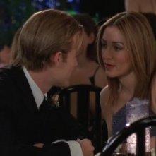James van Der Beek e Sasha Alexander in una scena dell'episodio Situazione impossibile della serie Dawson's Creek