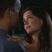 Joshua Jackson e Katie Holmes nell'episodio Grandi speranze della serie Dawson's Creek