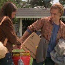 Katie Holmes e James van Der Beek nell'episodio Arrivederci Andie della serie Dawson's Creek