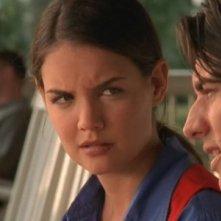Katie Holmes in una scena dell'episodio Un aiuto per Pacey della serie Dawson's Creek