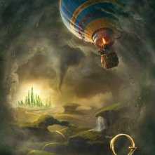 Oz: The Great and Powerful: teaser poster USA
