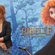 Ribelle - The Brave: Anna Mazzamauro, voce della strega, durante il junket romano del film