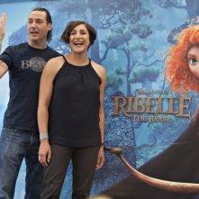 Ribelle - The Brave: il regista Mark Andrews insieme alla produttrice Katherine Sarafian