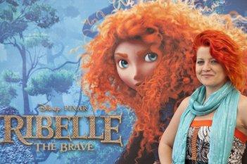 Ribelle - The Brave: la cantante Noemi, voce di Merida nei pezzi cantati del film, durante il junket romano del film