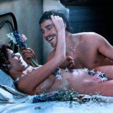 Sylvia Kristel con Nicholas Clay ne L'amante di Lady Chatterley