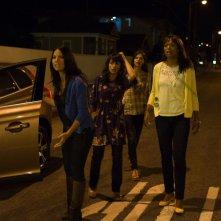 The Babymakers: Aisha Tyler, Constance Zimmer, Olivia Munn e Lindsey Kraft in una scena