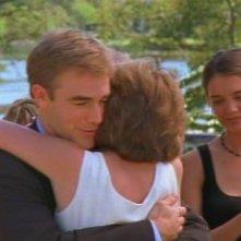 James van Der Beek e Katie Holmes nell'episodio Per sempre (1) della serie Dawson's Creek