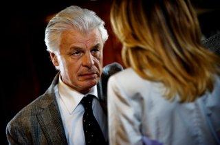 Tulpa: Claudia Gerini (di spalle) e Michele Placido in una scena del giallo diretto da Federico Zampaglione