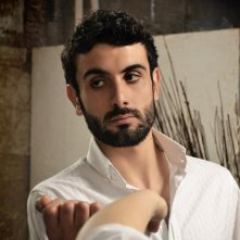 Alessandro Rugnone sul set di Disinstallare un amore