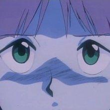 Nadia in una sequenza dell'episodio Addio, Red Noah della serie-tv Il mistero della pietra azzurra