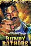 Rowdy Rathore: la locandina del film