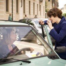 Eva dopo Eva: Angela Finocchiaro sul set del film a colloquio con la regista Sophie Chiarello