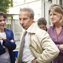 Eva dopo Eva: Giovanni Storti e Angela finocchiaro sul set del film con la regista Sophie Chiarello
