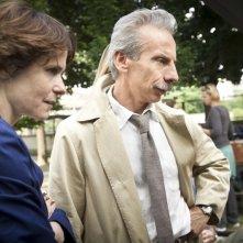 Eva dopo Eva: Giovanni Storti sul set del film con la regista Sophie Chiarello