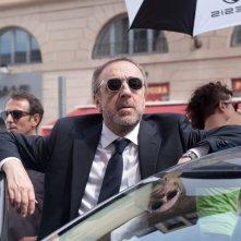La variabile umana: il protagonista del film Silvio Orlando sul set del film si prepara al ciak