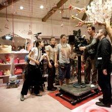 La variabile umana: un'immagine di gruppo dal set del film