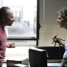 Una donna per la vita: Maurizio Casagrande e Vincenzo Salemme in una scena del film