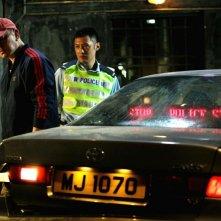 Motorway: Xiaodong Guo insieme a Anthony Wong Chau-Sang in una scena dell'action diretto da Pou-Soi Cheang