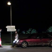 Nachtlärm: Sebastian Blomberg e Alexandra Maria Lara in una scena del film