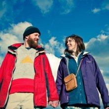 Sightseers: Alice Lowe e Steve Oram, nei panni di Tina e Chris, in una scena
