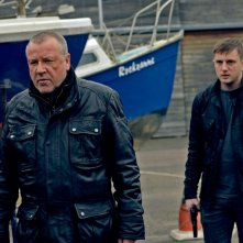 The Sweeney: i protagonisti Ray Winstone e Ben Drew in una scena