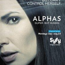 Alphas: un character poster della stagione 2 per Nina Theroux, il personaggio interpretato da Laura Mennell