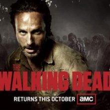 The Walking Dead: un poster con sviluppo orizzontale della stagione 3, rilasciato in occasione del Comic-Con 2012