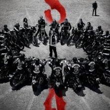 Sons of Anarchy: un poster della stagione 5