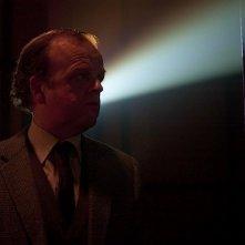 Berberian Sound Studio: Toby Jones in una scena del film nei panni di Gilderoy