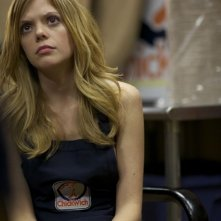Compliance: la protagonista Dreama Walker in una scena del film
