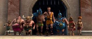 Gladiatori di Roma: Cassio con tutti i suoi allievi dell'Accademia dei Gladiatori di Roma