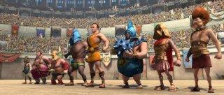 Gladiatori di Roma: Cassio nell'arena con gli allievi dell'Accademia dei Gladiatori di Roma